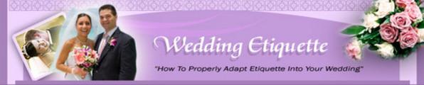Thumbnail Wedding Etiquettes 101 (MRR)