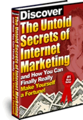 Product picture The Untold Secrets of Internet Marketing (MRR)